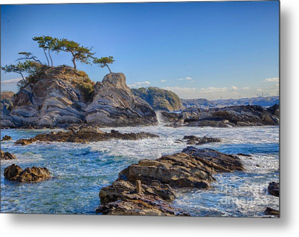Sea Side Metal Print by Tad Kanazaki