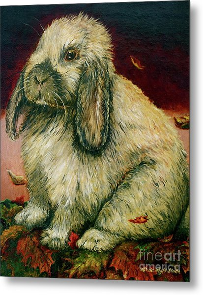 Some Bunny Is A Honey Metal Print