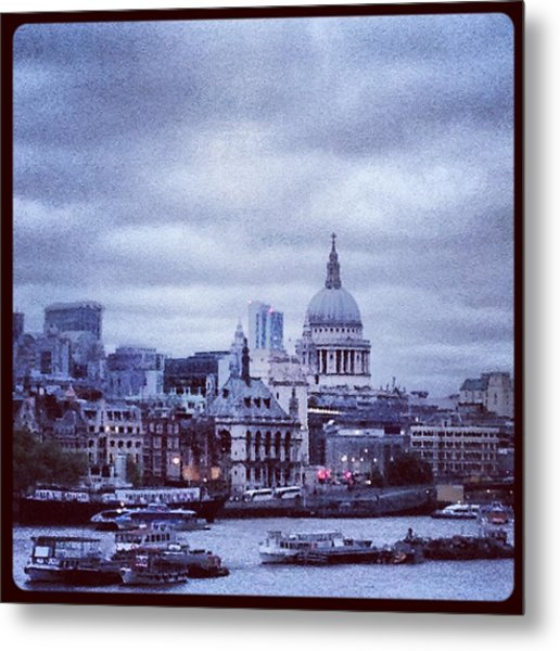 St Paul's Metal Print by Maeve O Connell