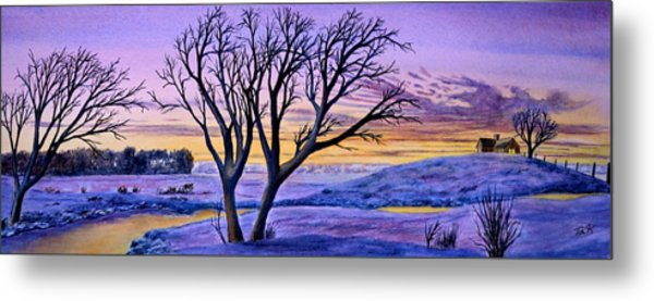 Sunset Sublime Metal Print
