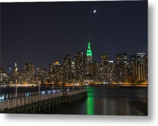View From Gantry Plaza State Park Metal Print