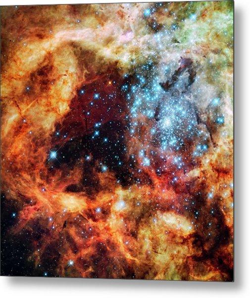 30 Doradus Star Clusters Metal Print by Nasa/esa/stsci/e. Sabbi/science Photo Library