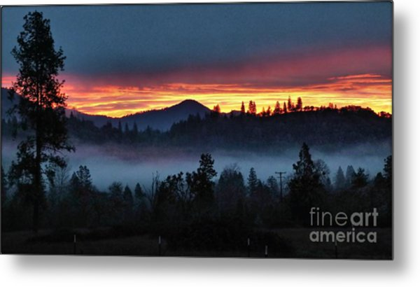 30 Min Before Sunrise Metal Print