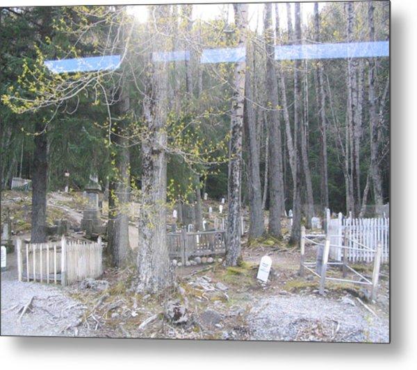 300yr Cemetery Metal Print