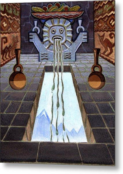 Mayan Passage Metal Print