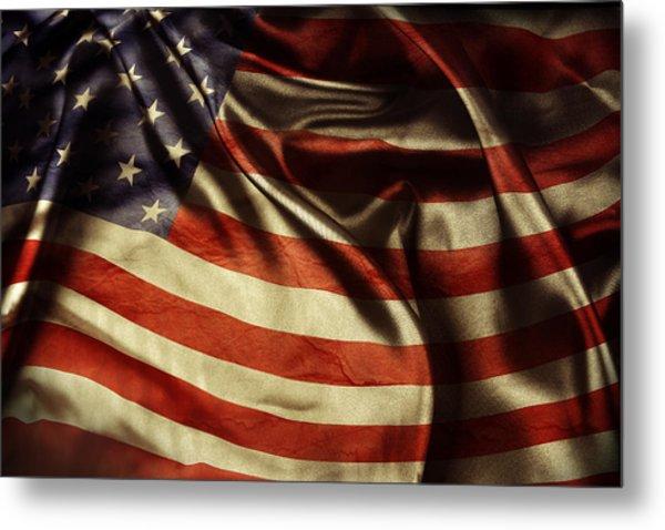 American Flag 51 Metal Print