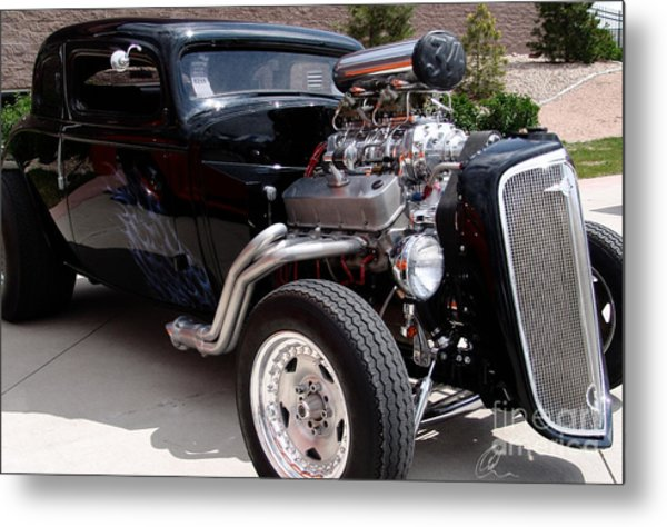 34 Custom Chevy Metal Print