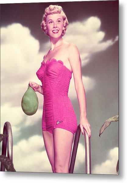 Doris Day Metal Print