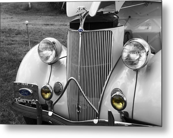 '36 Ford Coupe Metal Print