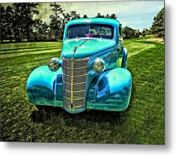38 Chevrolet Classic Automobile Metal Print