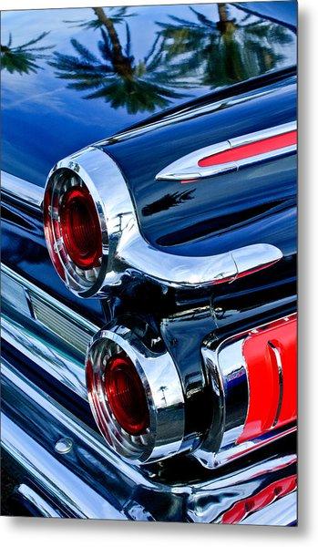 1962 Dodge Polara 500 Taillights Metal Print