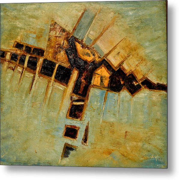 Abstract-5 Metal Print by Anand Swaroop Manchiraju