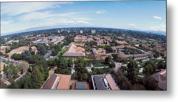 Aerial View Of Stanford University Metal Print