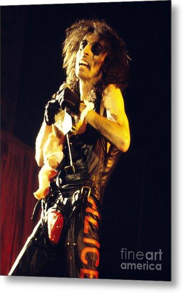 Alice Cooper 1979 Metal Print by Chris Walter