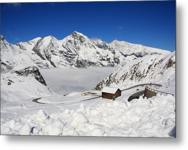 Austrian Mountains Metal Print