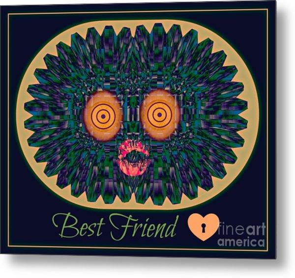 Best Friend Metal Print by Meiers Daniel