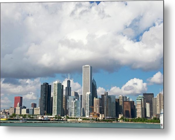 Chicago Metal Print by Jim West