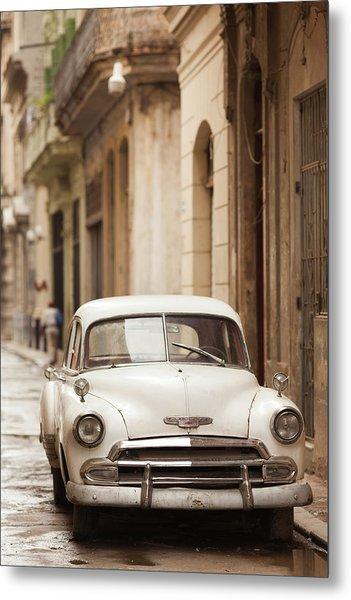 Cuba, Havana, Havana Vieja, Morning Metal Print