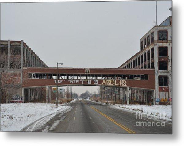 Detroit Packard Plant Metal Print