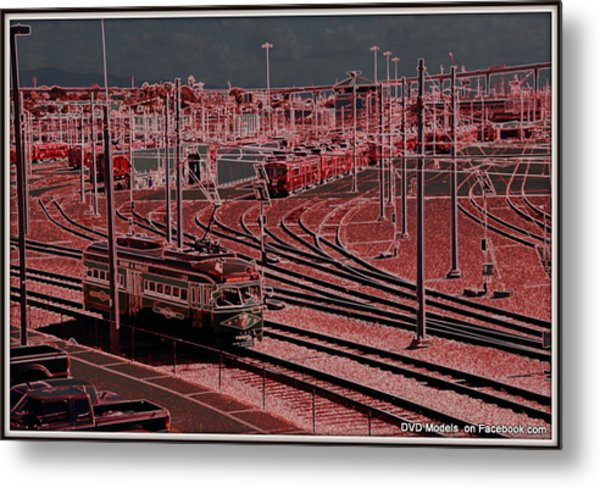 Digital Art Metal Print by JJ Cross
