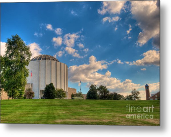 Founders Hall Metal Print