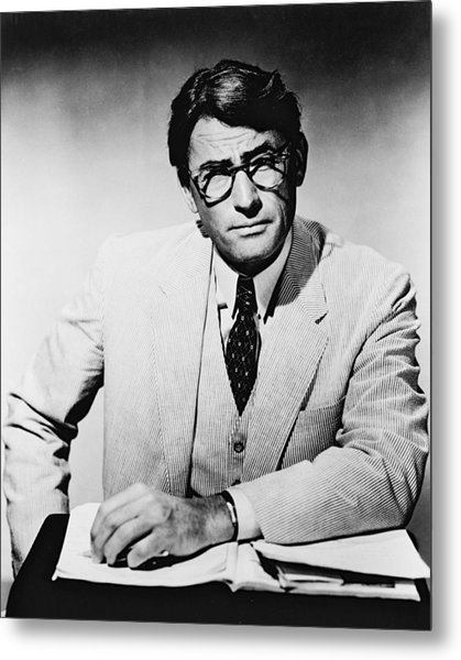 Gregory Peck In To Kill A Mockingbird  Metal Print