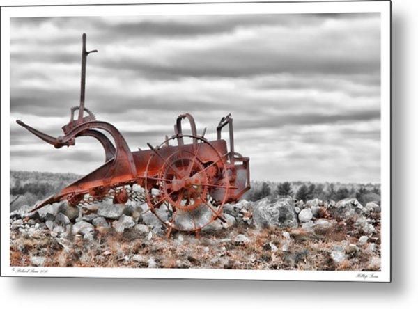 Hilltop Farm Metal Print by Richard Bean