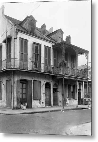 New Orleans House Metal Print by Granger