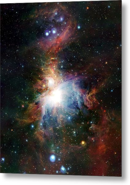 Orion Nebula Metal Print by European Southern Observatory/science Photo Library