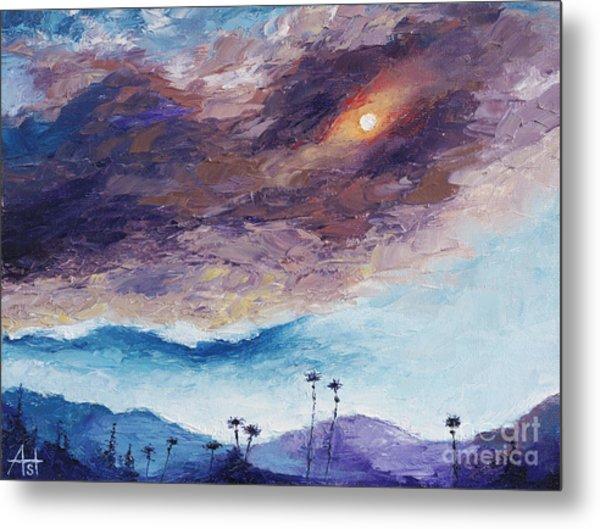 Palm Springs Summer Metal Print