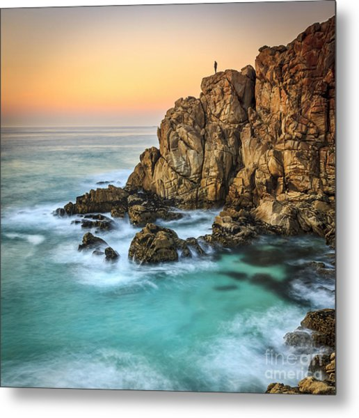 Penencia Point Galicia Spain Metal Print