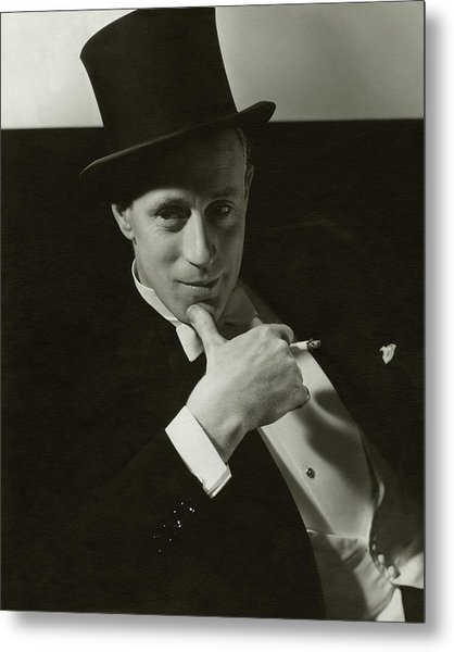 Portrait Of Leslie Howard Metal Print