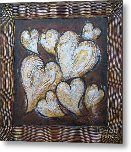 Precious Hearts 301110 Metal Print