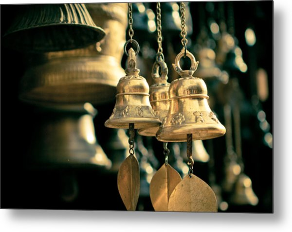 Sacrificial Bells Metal Print