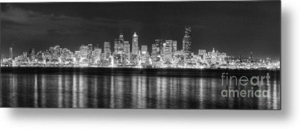 Seattle Skyline Metal Print by Twenty Two North Photography