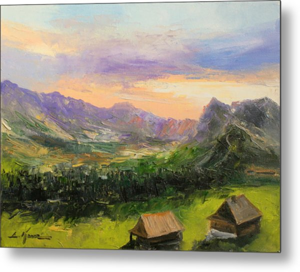Tatry Mountains- Poland Metal Print