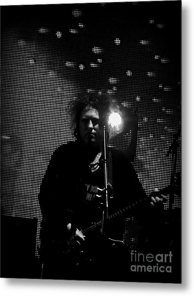 The Cure Robert Smith Metal Print