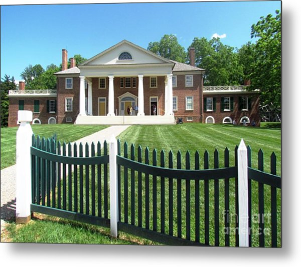 Virgina Madison Home Metal Print