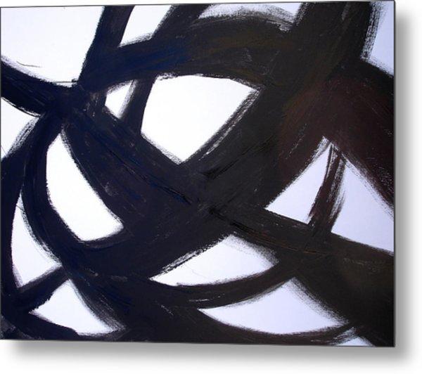 40x60 Abstract Art Painting Modern Robert R Print Limited Edition Metal Print