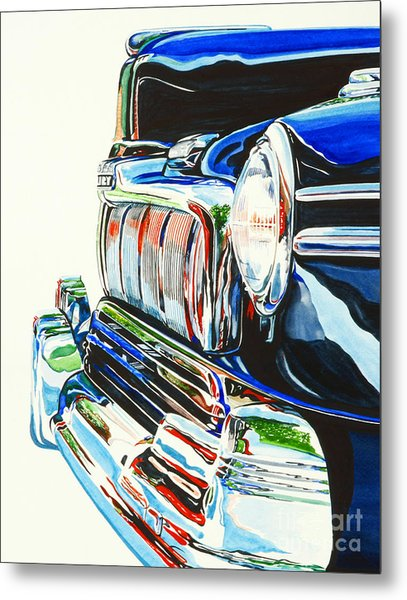 47 Mercury Metal Print by Rick Mock