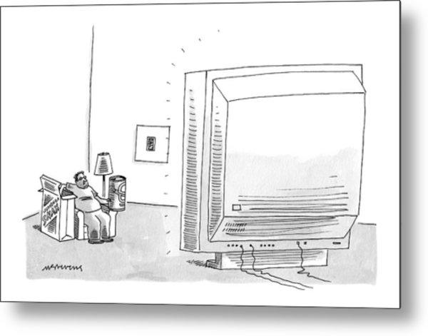 New Yorker May 8th, 2006 Metal Print