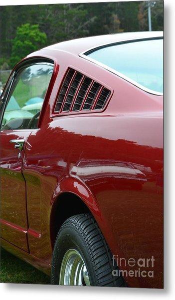 Classic Mustang Metal Print