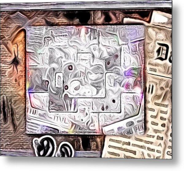 Abstract Metal Print by HollyWood Creation By linda zanini