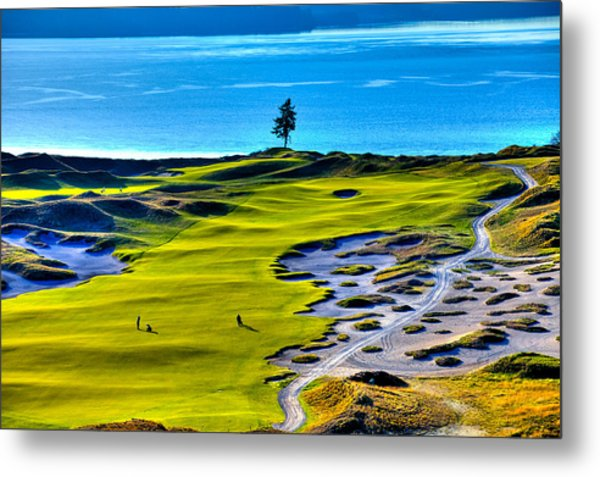 #5 At Chambers Bay Golf Course - Location Of The 2015 U.s. Open Tournament Metal Print