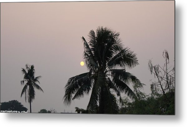 Beautiful Evening Metal Print by Gornganogphatchara Kalapun