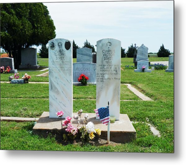 Bomarton Catholic Cemetery 5 Metal Print