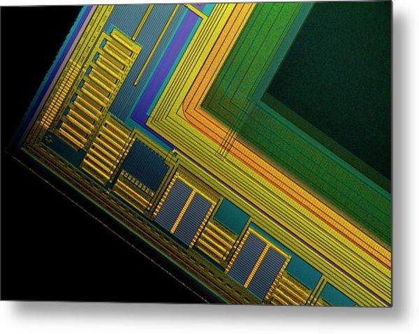 Ccd Camera Sensor Metal Print