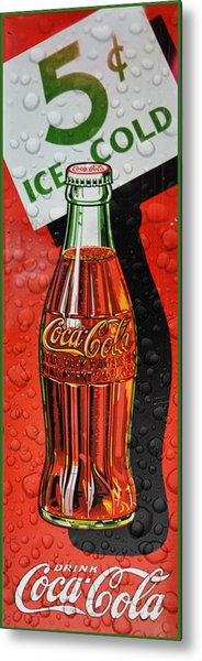 5 Cent Coca-cola From 1886 - 1959 Metal Print