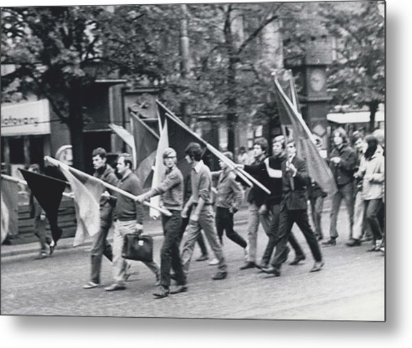 Cssr Occupied By Eastern Troops Metal Print by Retro Images Archive
