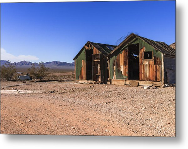 Death Valley Metal Print